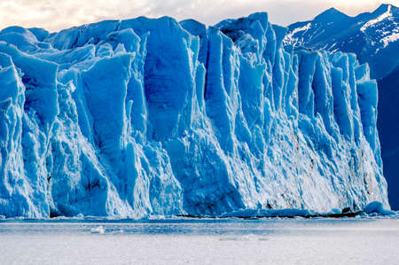 perito: Part of Glacier  Perito Moreno  in Argentine Patagonia
