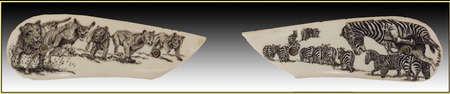 engraver: coltello incisore d'arte animali