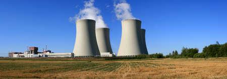 nuclear power station Reklamní fotografie - 1364340