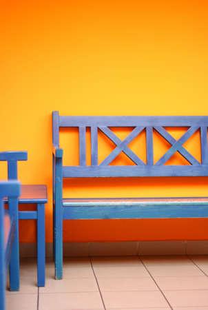 bench interior 1 Reklamní fotografie - 2592650