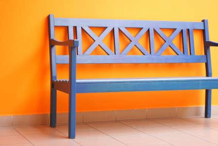 bench interior 2 Stock Photo
