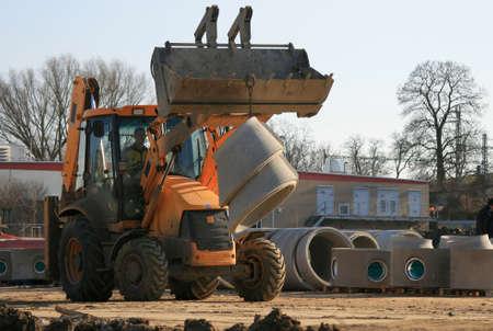 excavator-load pipeline
