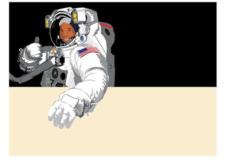 astronaut Stock Vector - 3803244