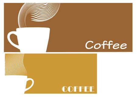 コーヒーの記号  イラスト・ベクター素材