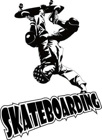 skateboarding Reklamní fotografie - 5076367