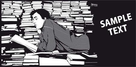 reader illustration