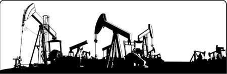 oilfield: oilfield  Illustration