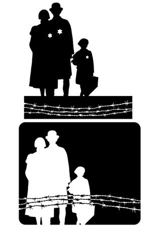 prejudice: holocaust Illustration