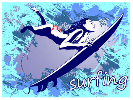chica surf: Surf
