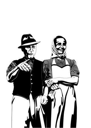 campesinas: los agricultores de época