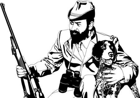 gun dog: hunter