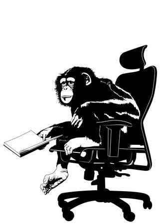 猿のリーダー