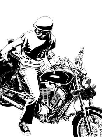 motorbike Stock Vector - 11571670