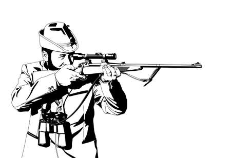 hunter Stock Vector - 11571673