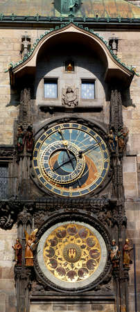 esoteric: clock astronomy of Prague