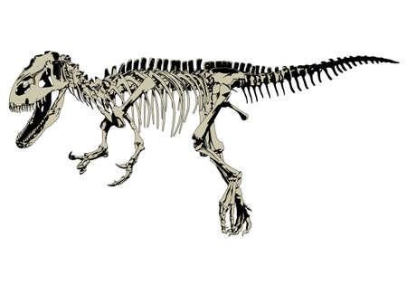 dinosaur predator Vector