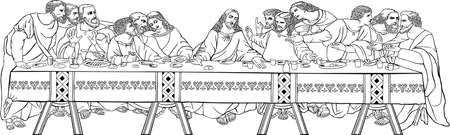 The Last Supper Stock Vector - 16942368