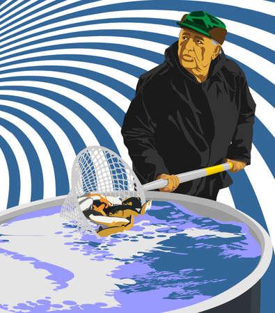 fishery: fisherman