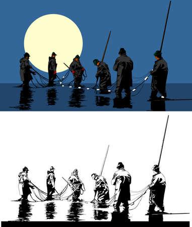 fishing net: fishing