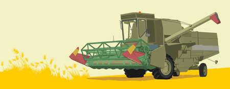 combine: harvester