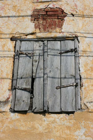 twin house: old windows