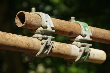 scaffolding joint details photo