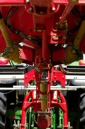 haymaker machine detail photo