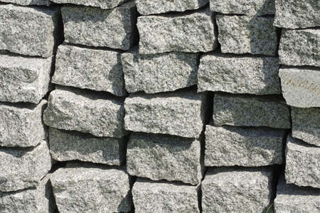 kerb: curbs stone backgrounds Stock Photo