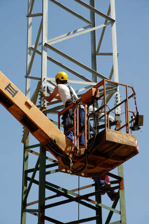 repair pylons high voltage photo