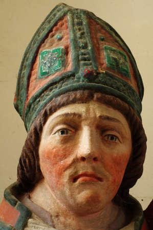 vitus: Saint Vitus portrait sculpture