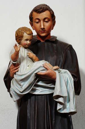 cenefas: escultura Niño Jesús