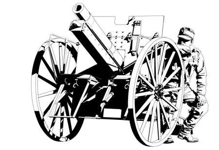artilleryman World War I 2