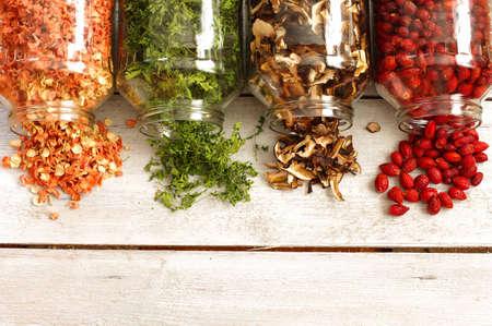 dried ingredients vegetables photo