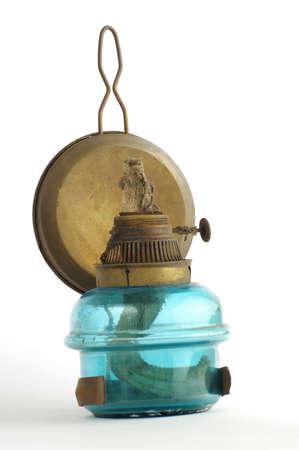 kerosene lamp: kerosene lamp blue