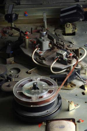 grabadora: cinta de carrete grabadora vendimia 2 Foto de archivo