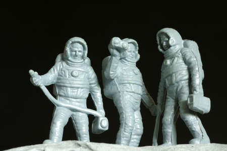 plastic toys: astronauts plastic toys