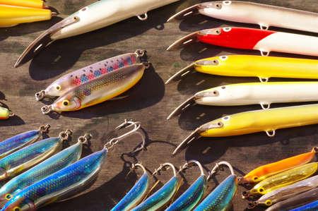 Leurres de pêche Banque d'images