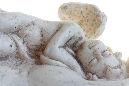 objects: Angel asleep objects isolated