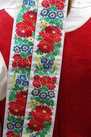 national costume: ribbon national costume