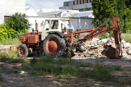 loader: Backhoe loader vintage