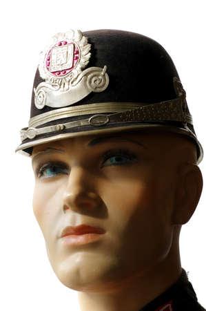 czechoslovak: Police helmet Czechoslovak