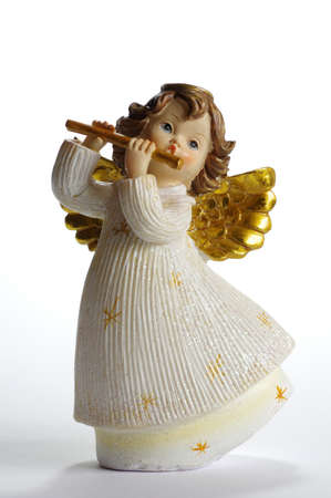 cherub: Cherub Flautisti ceramic objects