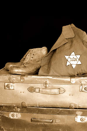 unjust: Jewish holocaust Stock Photo