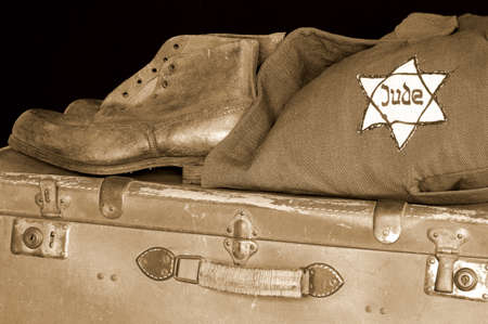 oppressed: Jewish holocaust Stock Photo