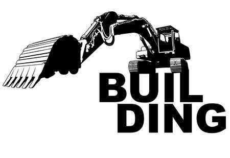 Excavator building