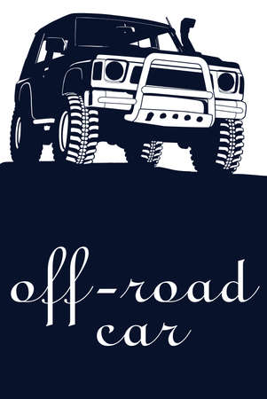 4x4: off road car