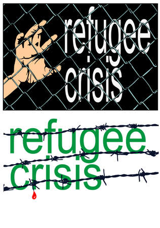 exclude: refugee crisis sign