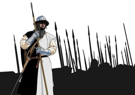 medieval warrior: medieval warrior