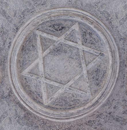 Star of David sign Reklamní fotografie