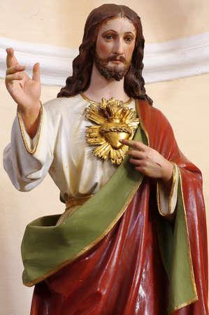 Christ portrait sculpture religion